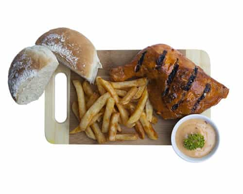 Spice Quarter Chicken Meal