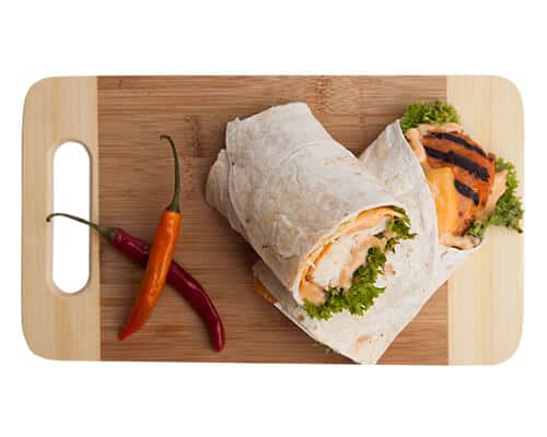 Spice Chicken Wrap