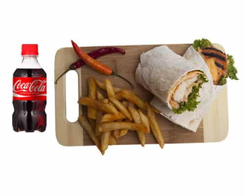 Spice Chicken Wrap Meal