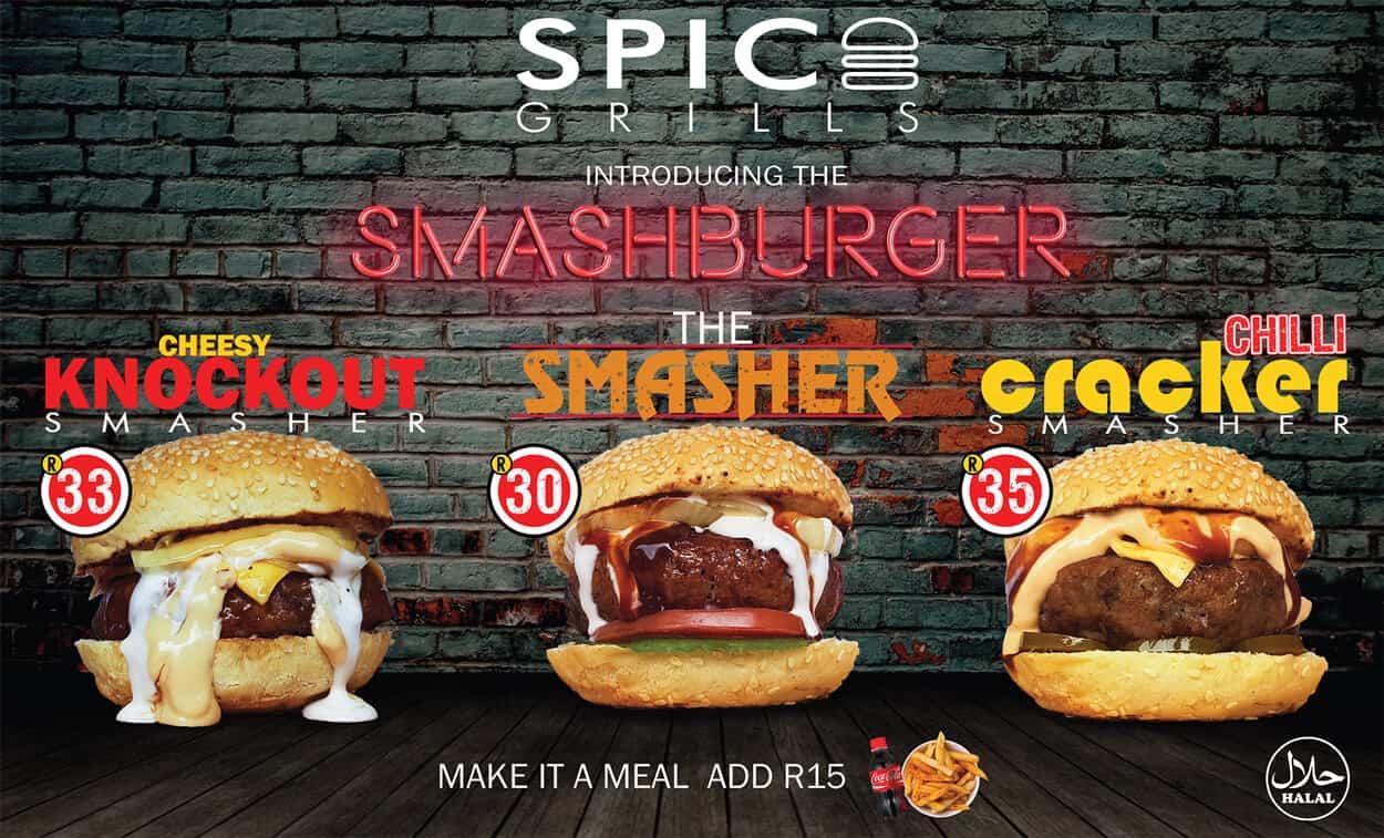 Spice Grill Smash Burgers